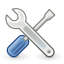 Preferences, Settings, System, Tools Icon