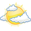 Clouds, Few, Gnome, Weather Icon