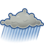 Gnome, Showers, Weather Icon