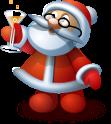 Christmas, Santa Icon