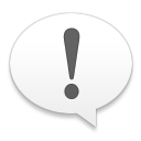 Alert, Chat, Messagebox, Talk, Warning Icon