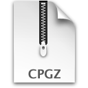 Compressed, Cpgz, File Icon