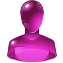Pink, User Icon