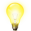 Brainstorm, Bulb, Idea, Jabber, Light Icon