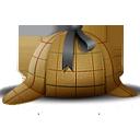 Agent, Detective, Hat Icon
