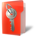 Folder, Key, Secure Icon