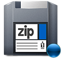 Mount, Zip Icon