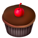 Cake, Chocolate, Food Icon