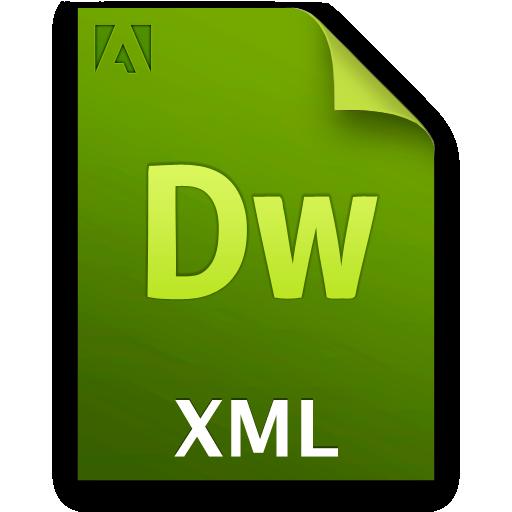 Doc, Document, File, Xml Icon