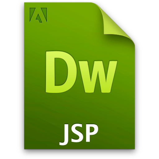 Doc, Document, File, Jsp Icon