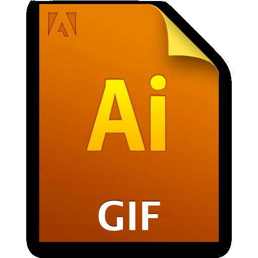 Ai, Document, File, Giffile Icon
