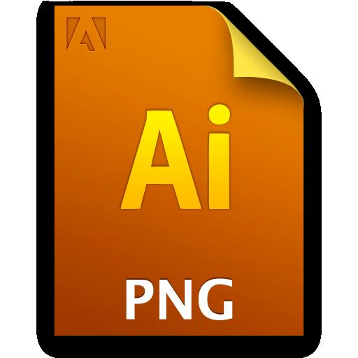 Ai, Document, File, Pngfile Icon