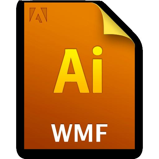 Ai, Document, File, Wmffile Icon