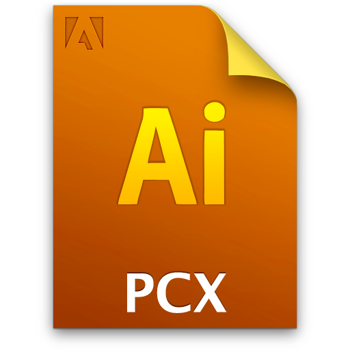 Ai, Document, File, Pcxfile Icon