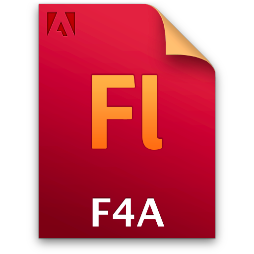 Document, F4a, File, Fl Icon