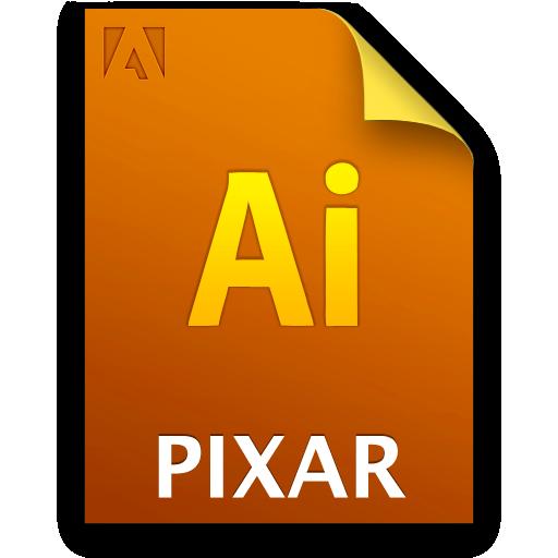 Ai, Document, File, Pixarfile Icon