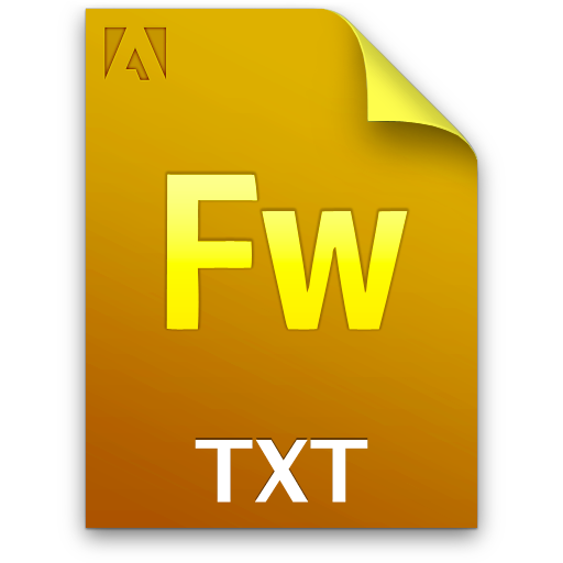 Document, File, Fw, Txt Icon