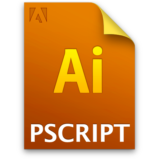 Ai, Document, File, Postscript Icon