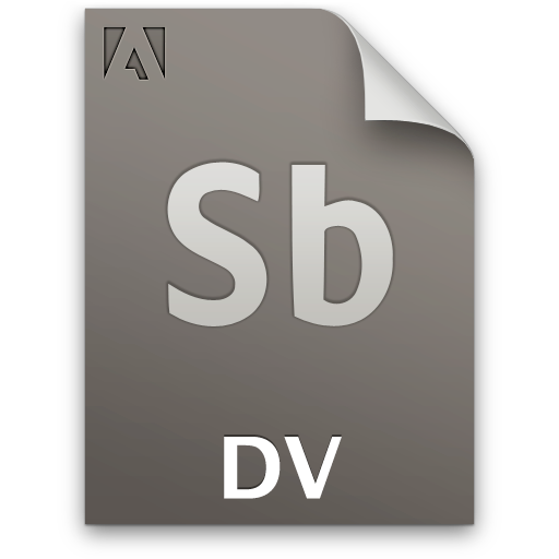 Document, Dv, File, Sb, Secondary Icon