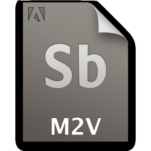 Document, File, M2v, Sb, Secondary Icon