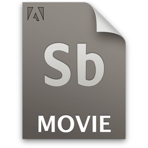 Document, File, Movie, Sb, Secondary Icon