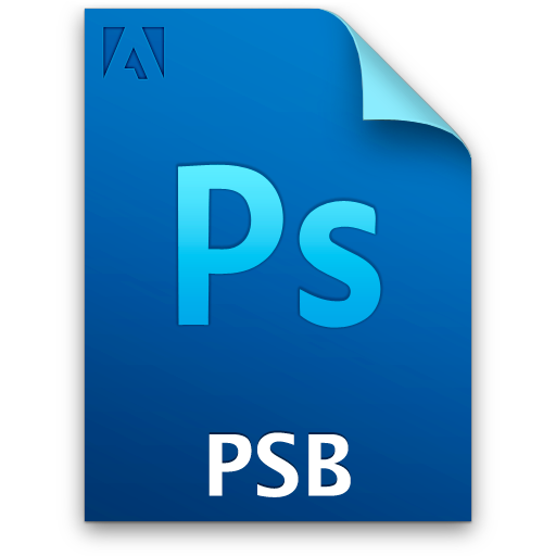 Document, File, Ps, Psbprimaryfile Icon