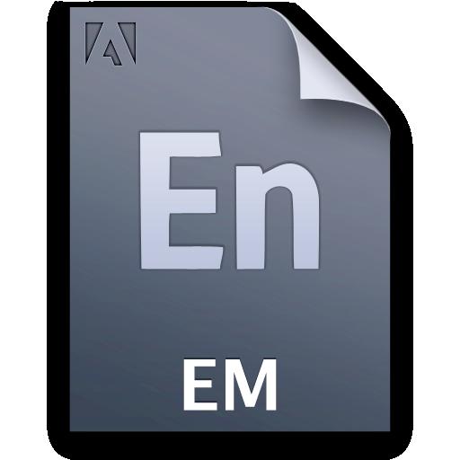 Document, Em, File, Ncor Icon