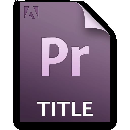Document, File, Pr, Title Icon
