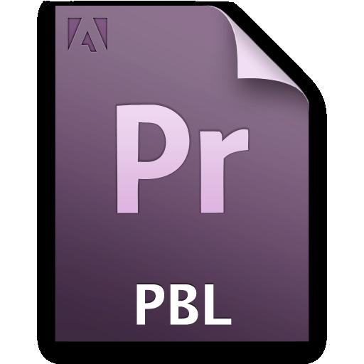 Document, File, Pr, Qbl, Secondary Icon