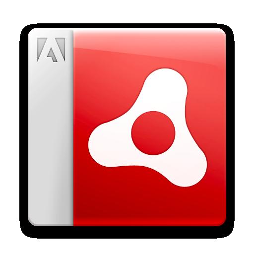 Adobe, Air, Document, File Icon