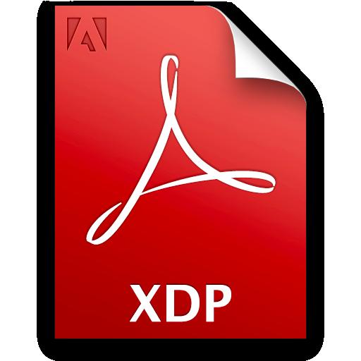 Acp, Document, File, Xdp Icon
