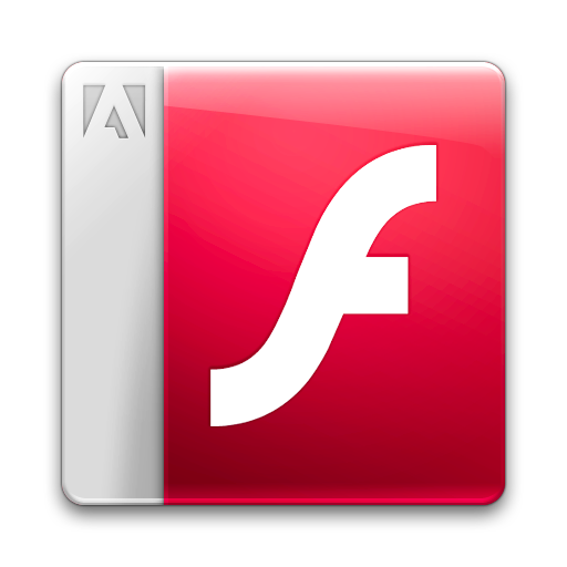 Document, File, Flashplayer Icon