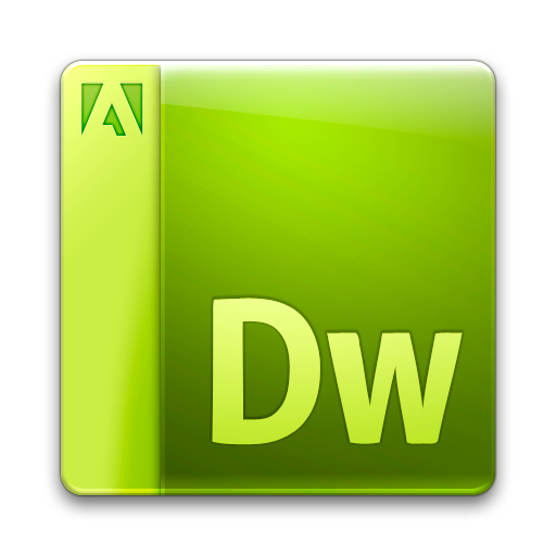 Adobe, Document, Dreamweaver, File Icon