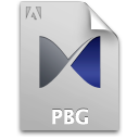 Document, File, Pb, Pbg Icon