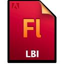 Document, File, Fl, Lbi Icon