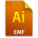 Ai, Document, Emffile, File Icon