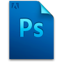 Adobe, Document, File, Photoshop Icon