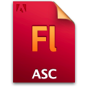 Asc, Document, File, Fl Icon