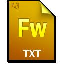 Document, File, Fw, Txt Icon