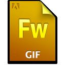 Document, File, Fw, Gif Icon