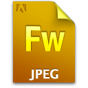 Document, File, Fw, Jpg Icon