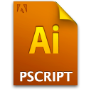 Ai, Document, File, Postscript Icon