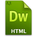 Doc, Document, File, Html Icon