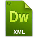 Doc, Document, File, Xml Icon