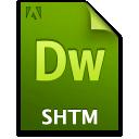 Doc, Document, File, Shtm Icon