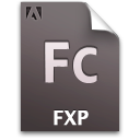 Document, Fc, File, Fxp Icon