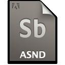 Asnd, Document, File, Primary, Sb Icon