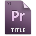 Document, File, Pr, Title Icon