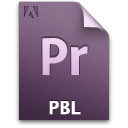 Document, File, Pr, Qbl, Secondary Icon