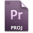 Document, File, Pr, Primary, Proj Icon
